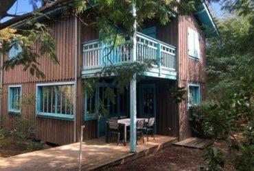 Maison bois T4 82 m² Cap Ferret Plage des Américains #Maison T4 3A Cap Ferret