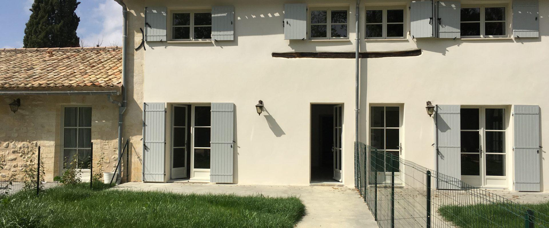 Appartement T4 avec jardin